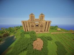 Imperial catedral. Minecraft