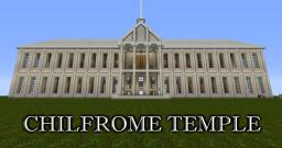 """Chilfrome Temple"" by TiggerPike Minecraft Map & Project"