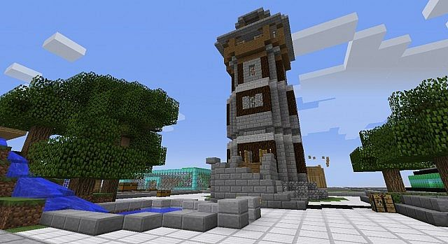 Medieval Tower Prison Plot Server Minecraft Project