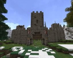 Circular Fortress Minecraft Map & Project