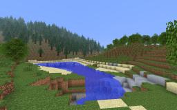 World Painter SSP Map/ USGS-GIS Data  (ores & caves) Minecraft Map & Project