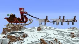 24th December - Santas Sleigh Minecraft Map & Project