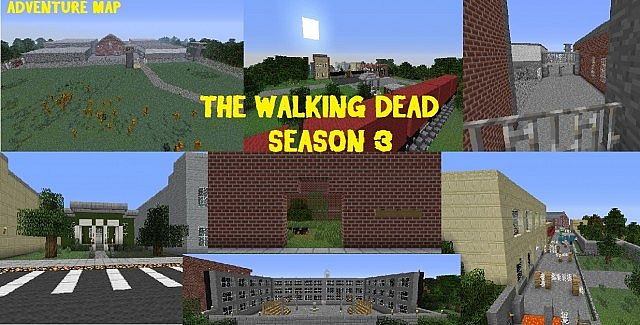 The walking dead season 3 adventure map minecraft project for Crafting dead server download