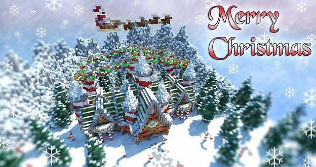 Christmas Minecraft Santa.Santa S Workshop Christmas Special Minecraft Project