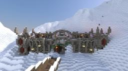 The Frozen Fortress Minecraft Map & Project