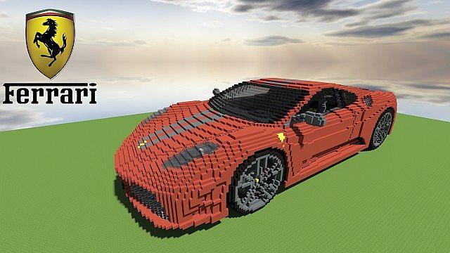 Ferrari F430 Scuderia Minecraft Project