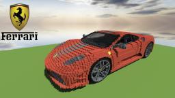 Ferrari F430 Scuderia Minecraft