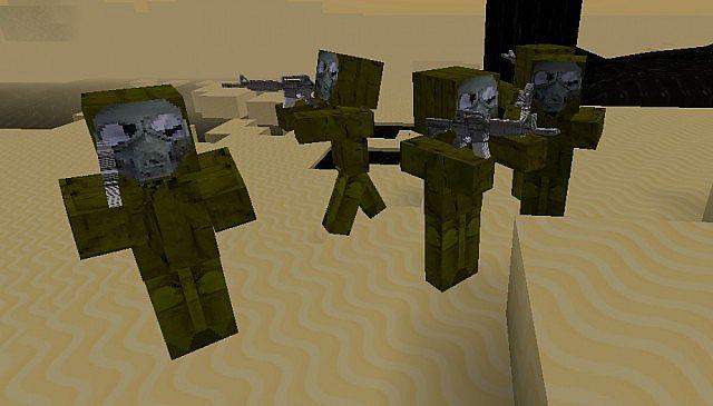 скачать моды нана военое оружие для майнкрафт 164 #9