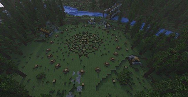 Survival карты minecraft