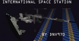 International Space Station [NSSDC 1998-067A]-Finished! Now with Space Shuttle! Minecraft Map & Project