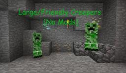 Large/Friendly Creepers [No Mods] Minecraft