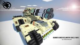 Mammoth Armed Reclamation Vehicle (MARV) Minecraft Map & Project