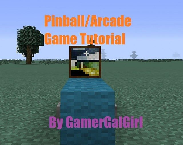 how to make a pinball machine in minecraft