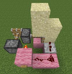 Sand Elevator Minecraft Map & Project