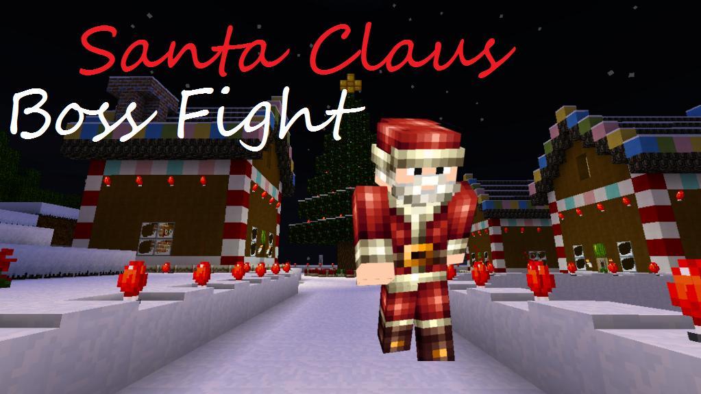 Merry Christmas Boss.Merry Christmas Evil Santa Boss Fight Minecraft Project