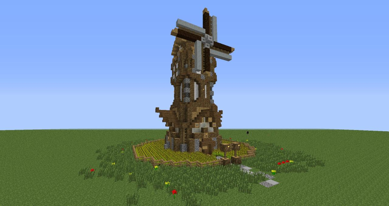 Related Keywords amp Suggestions For Minecraft Windmill