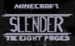 SLENDER - The eight Pages - 2 Players PVP MInigame - 1.7.2 Minecraft Map & Project