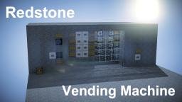 Redstone Vending machine 2.1 Minecraft Map & Project