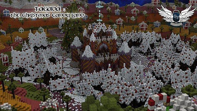 [Map] — Tagada: The Christmas Candy Land — Ещё одна карта в новогоднем стиле.