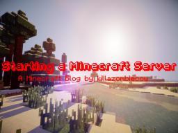 Starting a minecraft server Minecraft Blog