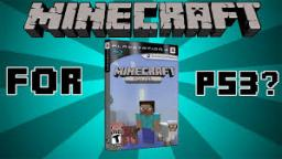 Minecraft Playstation 3 Edition - My First Thoughts Minecraft Blog Post