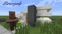 Bourgade (A Modern Village) Minecraft Project
