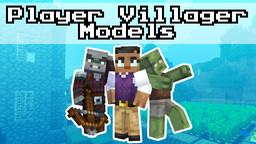 Player Villager Models (Requires OptiFine) Minecraft Texture Pack