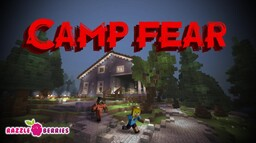 Camp Fear - new horror mini game Minecraft Map & Project