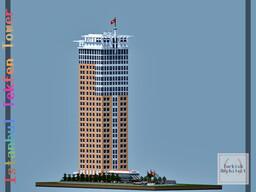 Tekfen Tower, Istanbul Turkey (Full Interior) Minecraft Map & Project
