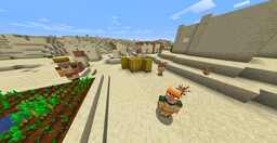 Villagers with Separated Arms Resource Pack 1.14-1.16 Minecraft Texture Pack