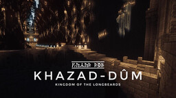 Khazad-Dûm, Great Realm of Longbeards Clan on the Misty Mountains (Moria) Minecraft Map & Project