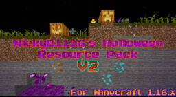 NickyB1106's Halloween Resource Pack Minecraft Texture Pack