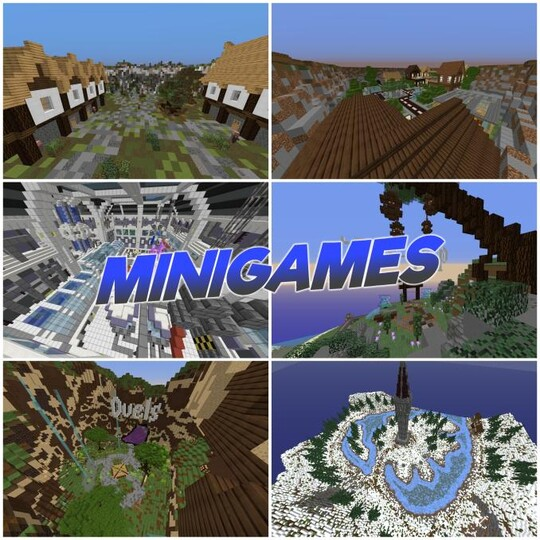 We have many minigames!