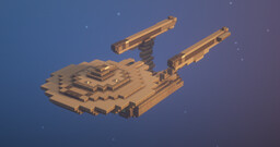 Constitution Class --- USS Enterprise Minecraft Map & Project