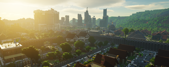 A view of the 2nd city from afar!