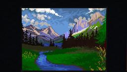 Mountain Pass - ArtMap Map Art Minecraft Map & Project