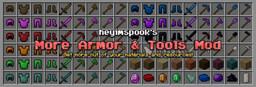 Spook's More Armor & Tools Mod [1.16.4] Minecraft Mod