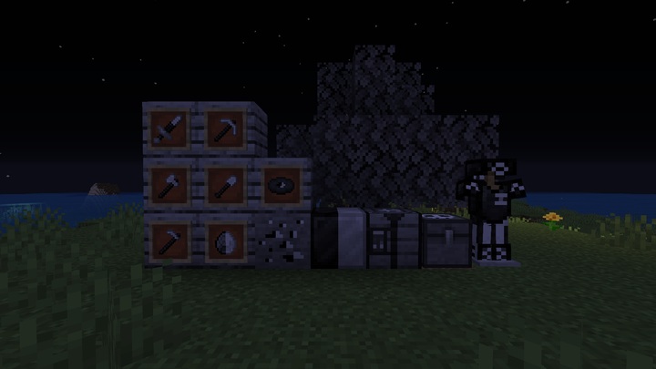 Some of the main blocks and items affected
