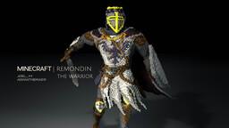Minecraft | Remondin The Warrior  - Asdanthemadd Minecraft Map & Project