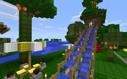 Home Sweet Home with Escalator (up/down) Minecraft Map & Project