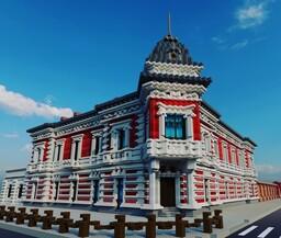 Mühsam's Palace - Pałacyk Mühsama | Eclecticism Minecraft Map & Project