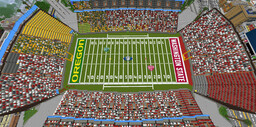 College Football Game! Minecraft Map & Project
