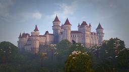 Hilltop Château Minecraft Map & Project