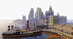 Brandtford City (20th Century U.S. City Build) Minecraft Map & Project