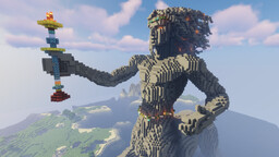 Funtazer's Centaur & Horse Sculpture Minecraft Map & Project
