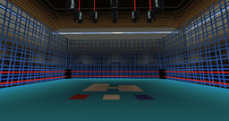 Old School WWF/WWE Wrestling Cage Match Arena Minecraft Map & Project