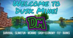 Dusk-Mine | ⭐ Survival ⭐ SlimeFun ⭐ mcMMO ⭐ Small community ⭐ 1.16.4 Minecraft Server