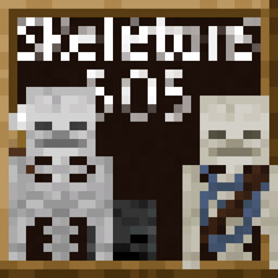 Skeletons 505 Minecraft Texture Pack