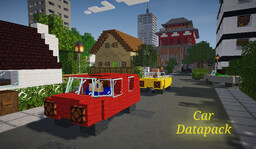 Car Datapack (1.16+) Minecraft Data Pack