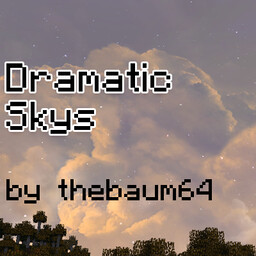 Dramatic Skys Minecraft Texture Pack
